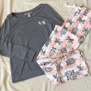 Top and bottom Victoria's Secret pajama set